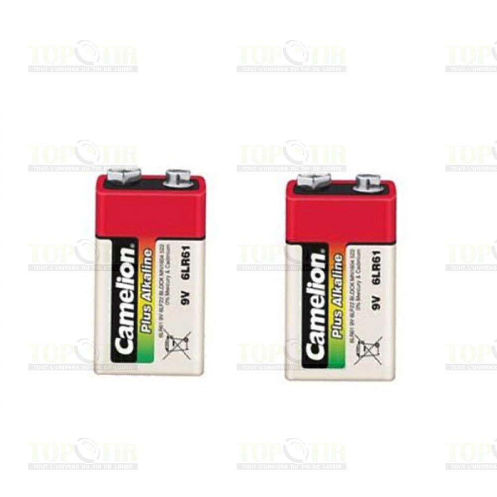 2 Piles 9 volts Alkaline
