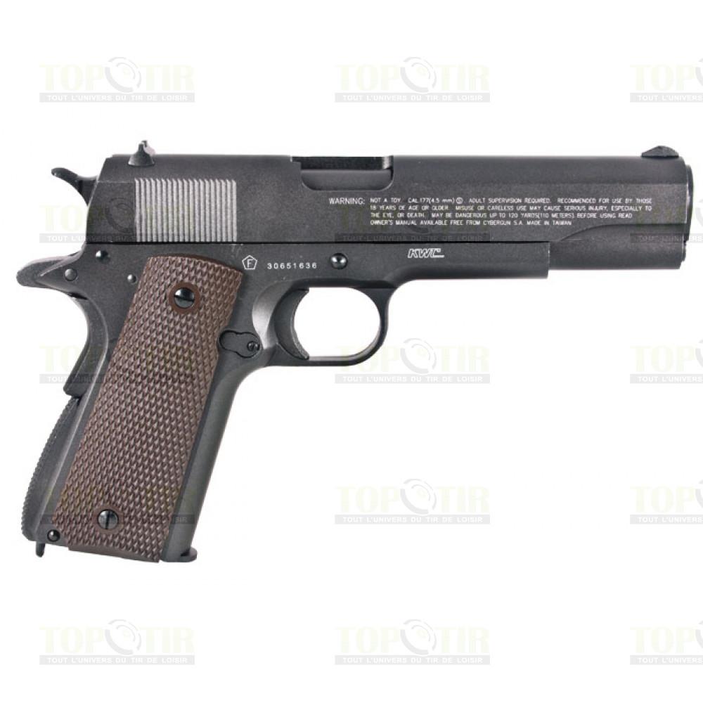 Arme de poing en complement d'une carabine à air comprimé - Page 2 Swiss-arms-1911-co2-bb-pistol-5