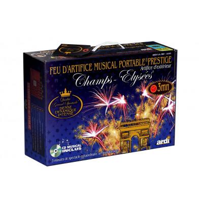 Feux d'artifice MUSICAL - Kit professionnel 3 min
