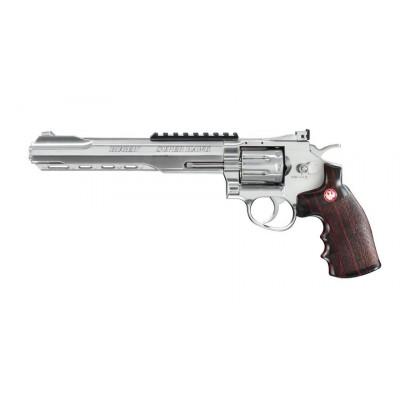 Revolver Ruger Super Hawk 8 pouces silver
