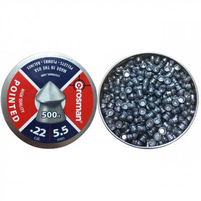 500 plombs pointus Crosman 5.5 mm