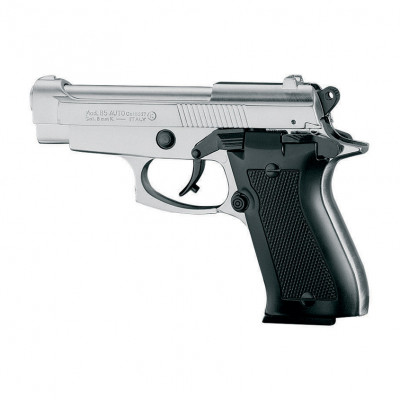 "Pistolet type ""Beretta 85"" chrome cal. 9mm"