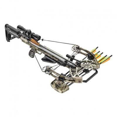 Arbalète à poulies accelerator 410 Camo 185 livres 410fps - EK Archery