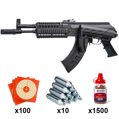 Carabine Crosman AK1 Full Auto ou Semi Auto Calibre 4.5mm 3 joules