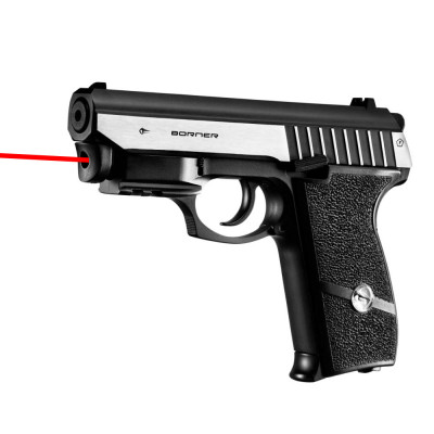 Pistolet à Plombs Panther 801 Borner - Laser intégré