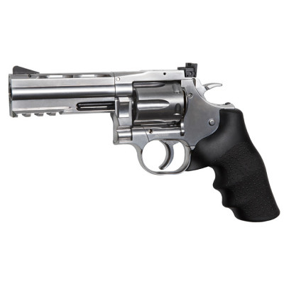 "Revolver Dan Wesson 715 chromé 4"" cal.4.5 mm Plombs"