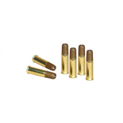 6 Douilles 4.5mm pour speedloader Dan Wesson