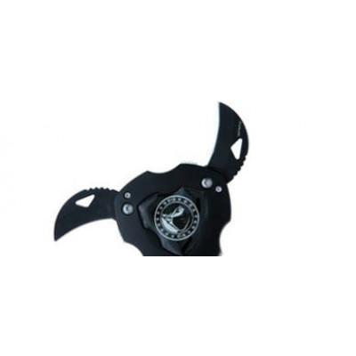 Etoile de Ninja 3 pointes noire