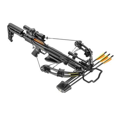 Arbalète à poulies BLADE+ 340fps Noir 175livres avec lunettes et accessoires - Ek Archery