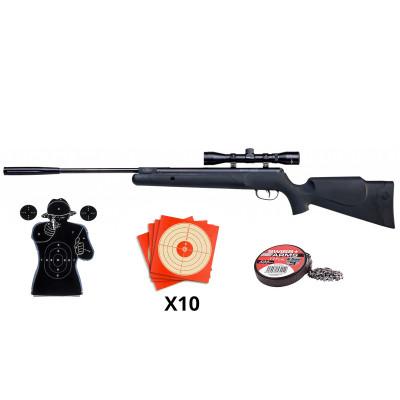 Pack carabine Crosman Fury NP 19,9 J. cal. 4.5 mm