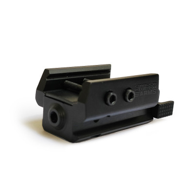 Micro laser Swissarms pour rail Picatinny 22mm