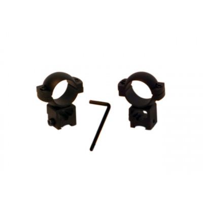 Montage haut 24.5 mm pour lunette de carabine