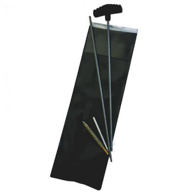 Set de nettoyage pour carabine baguette acier