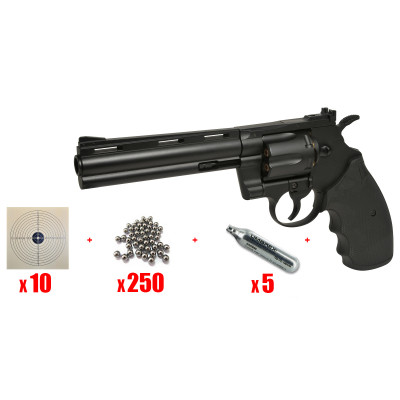 "PACK Revolver Swiss Arms 357 6"" cal. 4.5 mm"