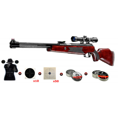 Pack Hammerli Hunter Force 900 Combo 19,9 J. cal. 4.5 mm