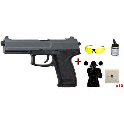 Pack Pistolet DL 60 Socom cal. 6 mm