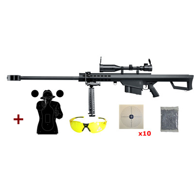 Pack Sniper Elite force EF82 Full métal cal. 6mm
