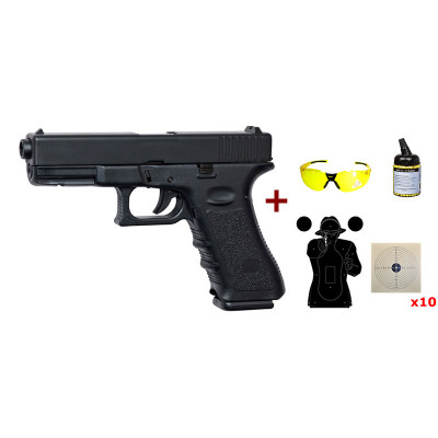 Pack Pistolet G17 HW Asg