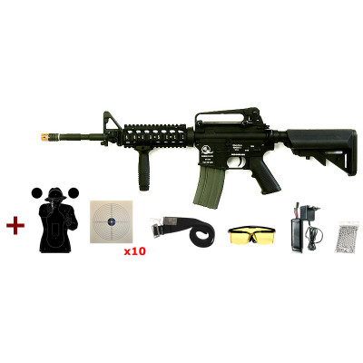 Pack M15 A4 RIS Classic Army cal. 6 mm