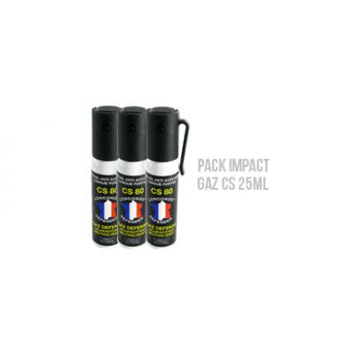 Pack Impact GAZ CS 25mL