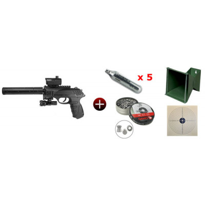 Kit P-25 Tactical Gamo 4 joules
