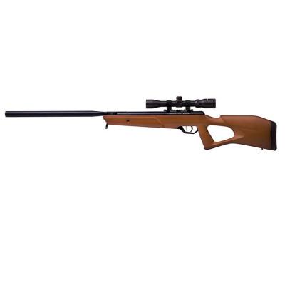 Carabine à plombs CROSMAN BENJAMIN TRAIL WOOD NITRO PISTON 2 cal 4,5 mm + LUNETTE 3-9x40
