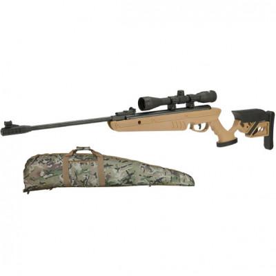Carabine Swiss Arms TG-1 TAN cal 4.5mm + Lunette de visée 4x40 + housse