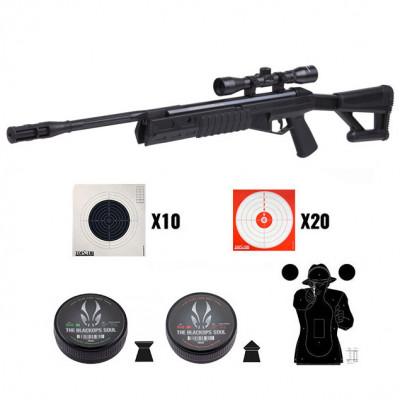 Pack carabine Crosman TR77 NPS 19,9 J. cal. 4.5 mm