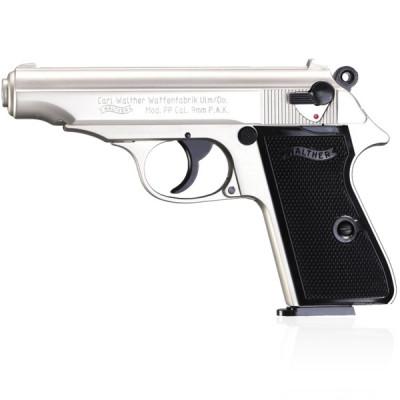 Pistolet Walther PP Chromé cal.9mm UMAREX