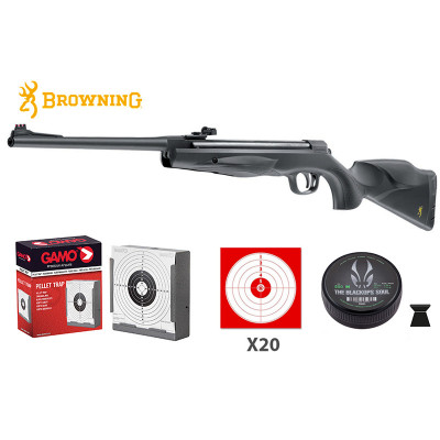 Pack Browning X-Blade II Cal. 4,5mm 19,9 joules ( lunette non incluse )
