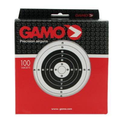 100 cibles GAMO 14X14 cm