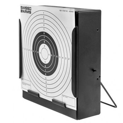 Porte cibles plat pour cartons 14X14 SwissArms