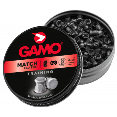 500 plombs Gamo Match Diabolo cal 4.5 mm