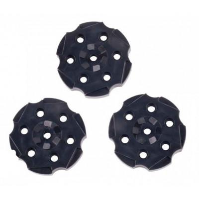 Lot de 3 Barillets Vigilante Crosman BBS cal. 4.5 mm